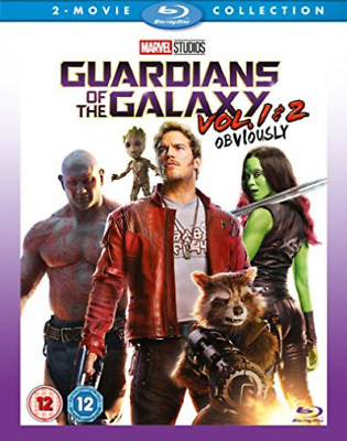 Guardians Of The Galaxy Vol 1 & 2 (UK IMPORT) DVD NEW