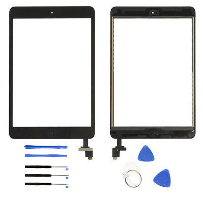 For iPad 2/3/4/ & Mini 1/2 Black/White Front Touch Screen Digitizer Replacement