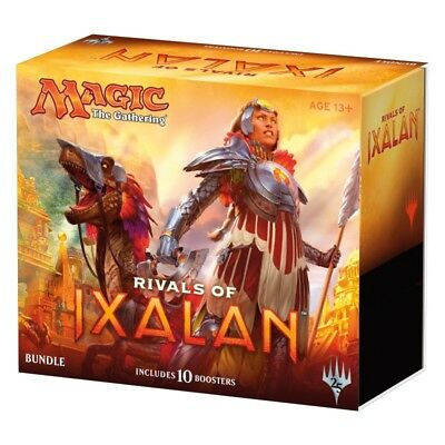 Wizards of the Coast Magic the Gathering MTG: Rivals of Ixalan Bundle Fat Pack
