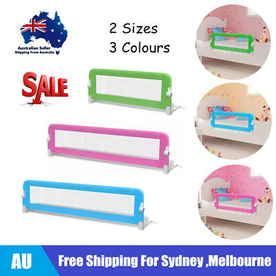 Toddler Safety Bed Rail Baby Guard Gate 102x42cm/150x42cm Multi Colours AU D3W5