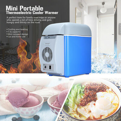 Mini DC12V 7.5L Thermoelectric Portable Refrigerator Cooler Warmer for Car Home
