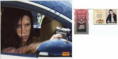 RHONA MITRA autograph HAND SIGNED with COA 121
