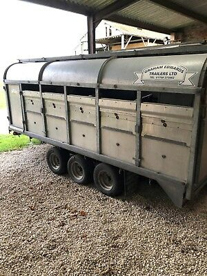 Low Body Grahame Edwards Livestock Trailer.