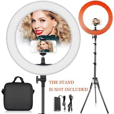 "12"" Dimmable 6200K LED SMD Ring Light with Stand for Makeup Phone Camera Selfie"