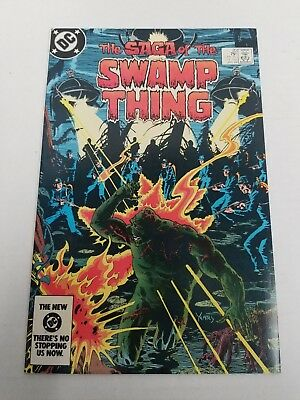 Saga of the Swamp Thing #20 (1st Alan Moore Issue!) DC Comics Horror 1984 Fine +