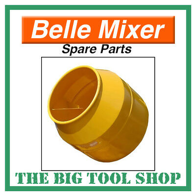 Belle Genuine Mixer Drum For Minimix 130 With Ring Gear Assembly