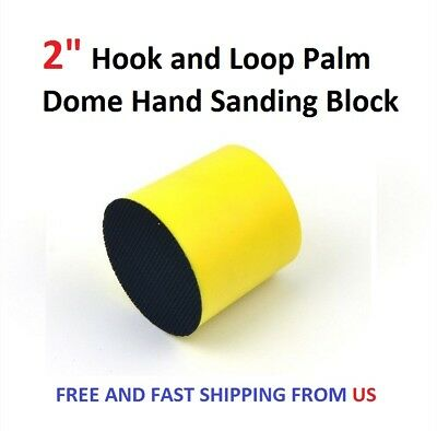"""2"""" Hook and Loop Palm Dome Hand Sanding Block"""