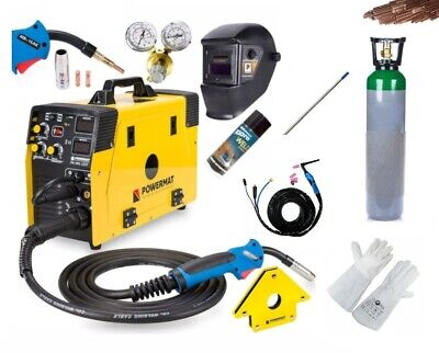 5 in 1 MIG / MAG / TIG / FCAW / MMA Welder Inverter 220A FULL SET