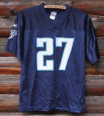 177f3d9a NIKE EDDIE GEORGE Tennessee Titans Football Jersey Youth Large Blue ...
