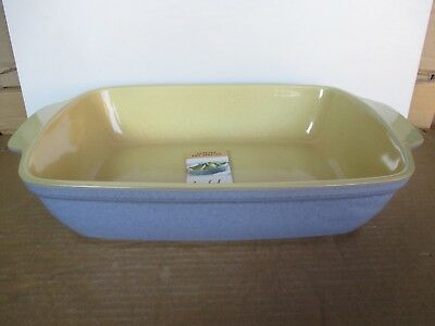 Denby Juice Oblong Serving Dish New First Quality Excellent Condition
