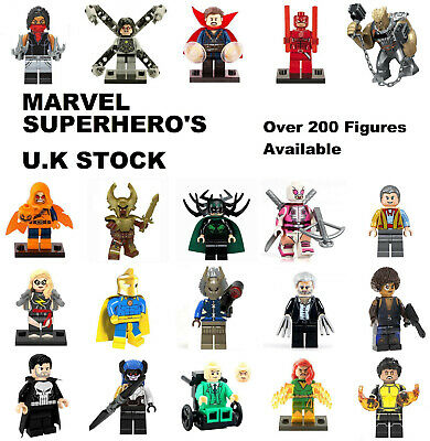 Marvel Minifigure The Avengers Lego and Custom Minifigures Superhero Mini Figure