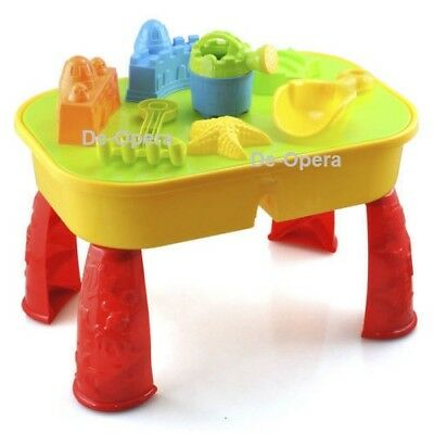 2 in1 Children Sand And Water Table Fun Activity Game Perfect Gift