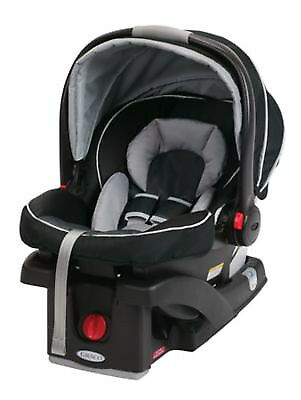 Graco SnugRide Click Connect 35 Infant Car Seat With 1 base (black/grey)