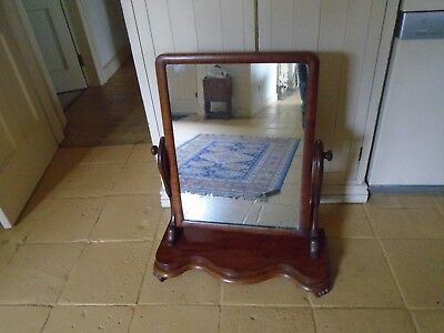 Antique Cheval / Dressing Table Mirror