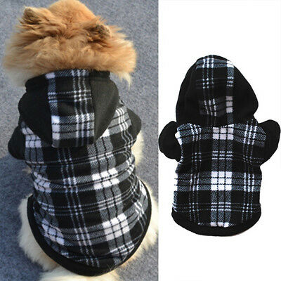 Pet Dog Hoodie Coat Jacket Puppy Cat Winter Warm Hooded Costume Apparel HealthyG