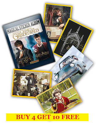 Panini Fantastic Beasts 2 - The Crimes Of Grindelwald Single Stickers (2018)