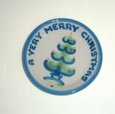M.A Hadley A Very Merry Christmas  Mini Plate Coaster 4.25""
