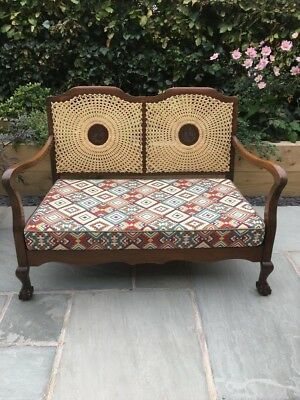 Bergere Style Caned Chair