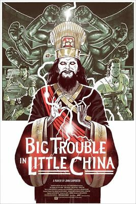 Big Trouble in Little China by Sam Bosma (Mondo Print) - Unopened