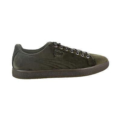 b791528ae54dff Puma Suede Classic Sock Men s Size 7.5 Olive Night Athletic Shoes X17-202.
