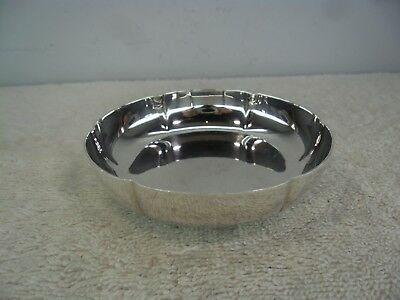 Jezler of Switzerland Solid Silver Lobed Change Dish