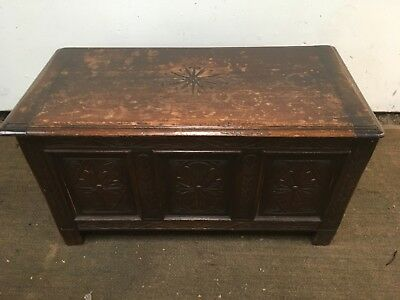 Antique Oak Chest coffer