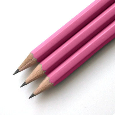 Pink HB Pencils *Personalised* with 1 name or message in capitals letters only