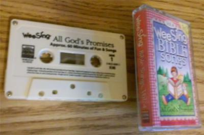 Wee Sing Bible Songs, Vol. 4:  All God's Promises ~ Cassette Tape with 27 Songs