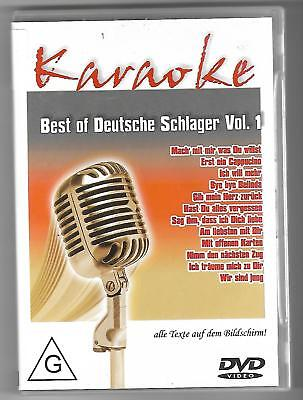 KARAOKE + DVD + Best of Deutsche Schlager Vol.1 & Texte auf Bildschirm + Party..