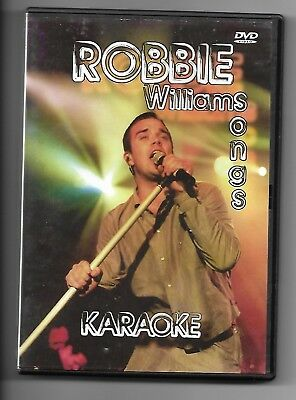 KARAOKE + DVD + Robbie Williams Songs& Texte auf Bildschirm + Party Spaß