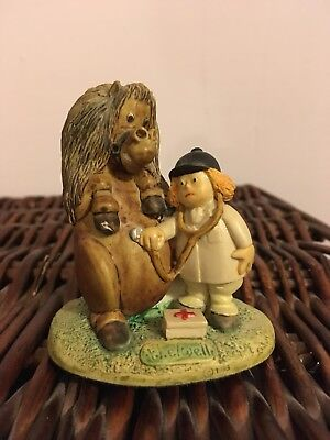 Thelwell Figurine Don't Panic Over His Simple Ailments