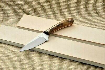 Leather Knife/Razor strop/Sharpening/honing board/ UK Made with free Powder inc