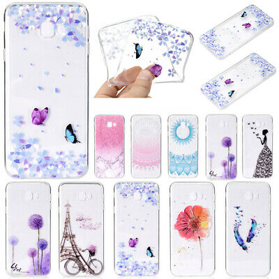 Slim Shockproof Silicone Clear Case Cover For Samsung J6 J4 Plus Prime A7 2018
