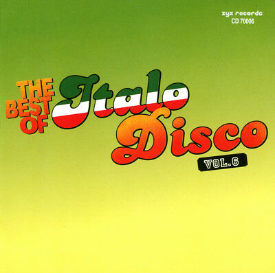 2CD Various ‎- The Best Of Italo-Disco Vol. 6 ( 2 AUDIO CDs in JEWEL CASE )