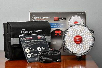 Rotolight NEO On-camera LED Lighting Fixture