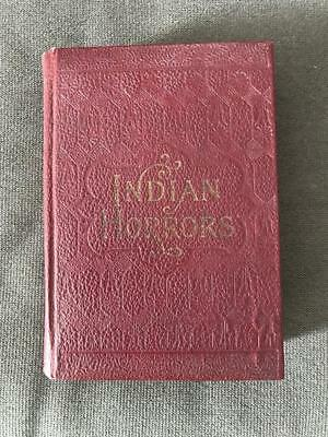 Rare Indian Horrors Old Wild West War Custer 7Th Cavalry Pocahontas Buffalo Bill