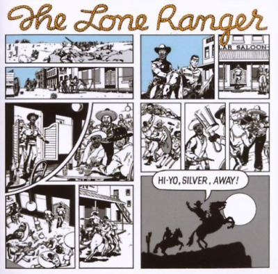 Lone Ranger-Hi-yo Silver Away! (UK IMPORT) CD NEW