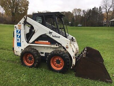 Bobcat 773 Skid Steer Loader Low Hours. NO RESERVE