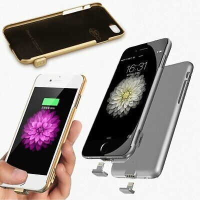 Ultra Thin Power Bank Backup Charger Battery Case Cover Pack For iPhone 6S Plus
