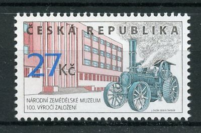 Czech Republic 2018 MNH Museum of Agriculture 1v Set Museum Transport Stamps
