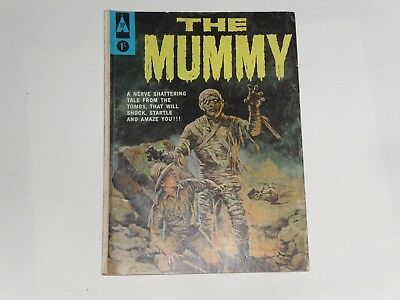 The Mummy  #1   1963   Uk Edition  Top Sellers   68 Pages 1/-  Jack Sparling Art