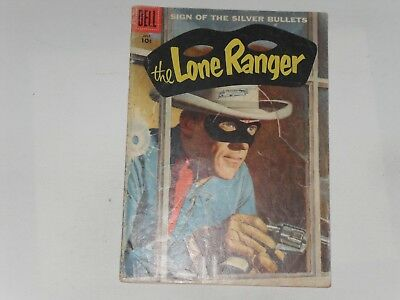 The Lone Ranger  #109  July 1957   Dell Western   36 Pages 10 Cents  Good Plus