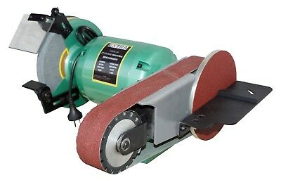 Bench grinder With Linishing Attachment