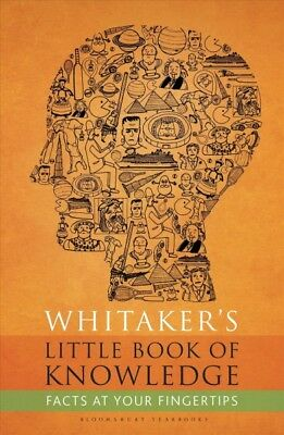 Whitaker's Little Book of Knowledge, Hardcover by Bloomsbury Yearbooks (COR),...