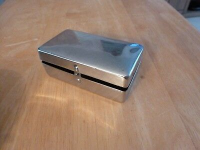 metal hinged box