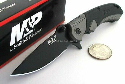 Smith & Wesson M&P M2.0 SMALL Manual Ultra Glide Flipper Opening Folder Knife