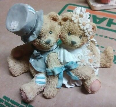 Cherished Teddies Robbie and Rachael