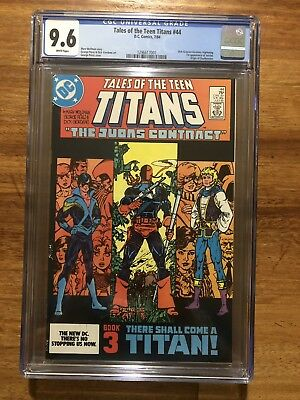 Tales of the Teen Titans 44 CGC 9.6 1st Nightwing 1st Print White Pages