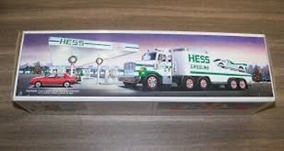 Hess* 1988* Toy* Truck* And* Racer* Mib*