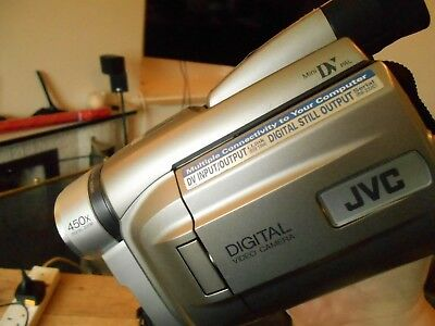 Jvc Gr-Dvl 45 Mini Dv Digital Video Camcorder Perfect Working Order With Charger